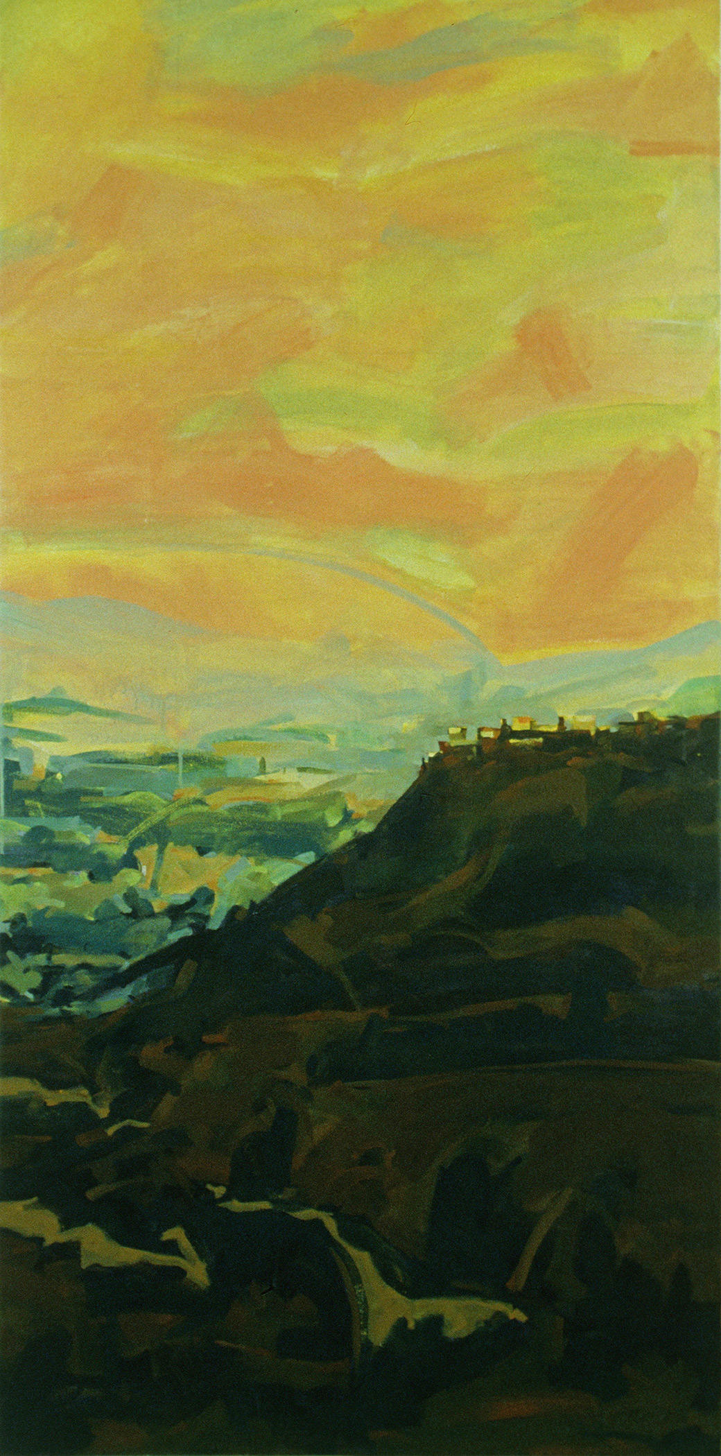 "Acrylic on Canvas, 65.5 x 32.25"", L99A17-5, 1999, Collection Dan Warrick and Karen Berg"