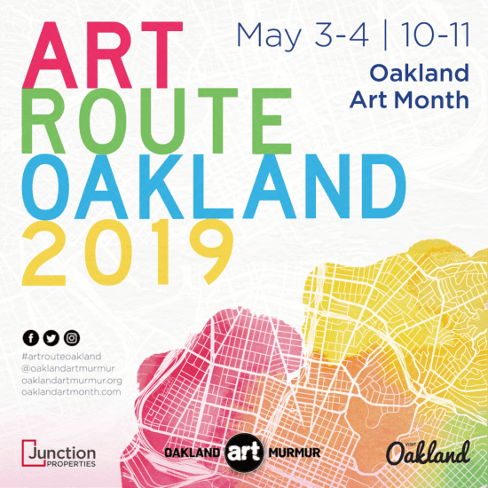 announcement, Art Route, 2019, Faultline Artspace